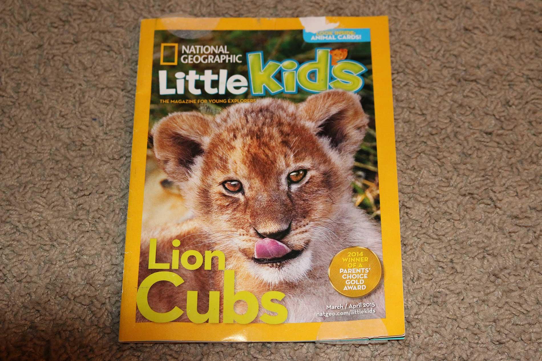 National Geographic Little Kids Magazine